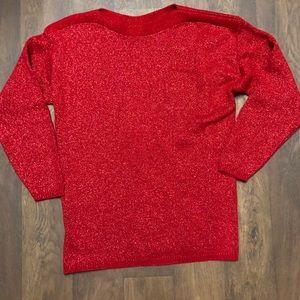Bedford Fair 🍁 Vintage Red Sweater | Large | L